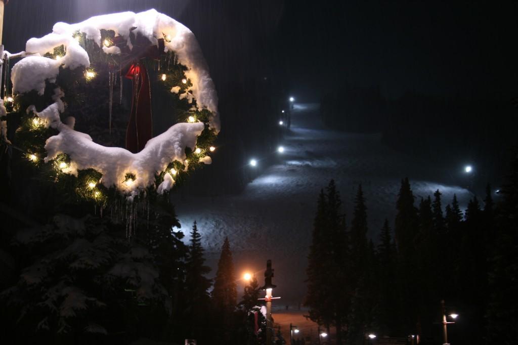 White snow in Keystone