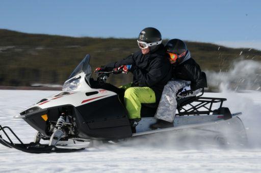 Snowmobiling in Keystone Resort