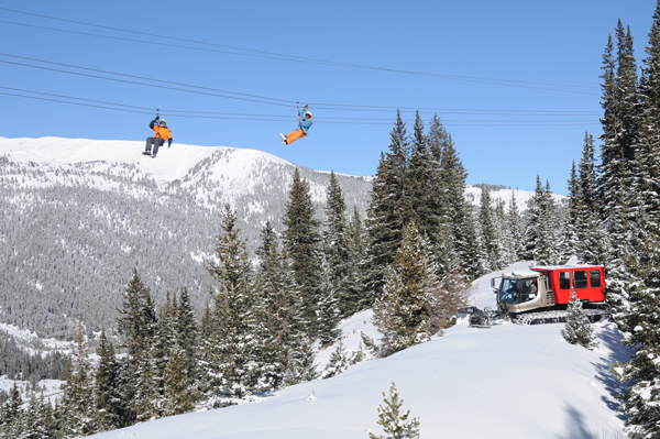 Zip Line, Flyers Over SnowCat, February