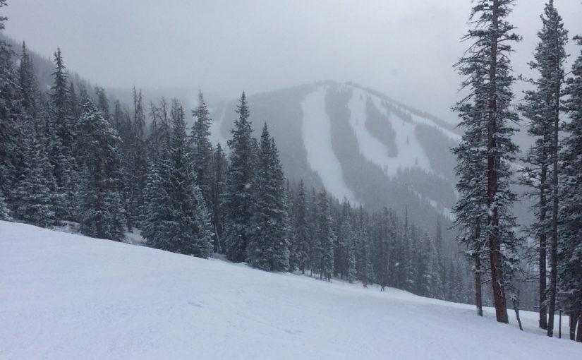New Snow at Keystone Ski Resort