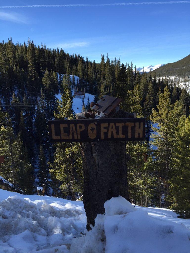 Zip Lining Leap O Faith Top of the Rockies Keystone SummitCove