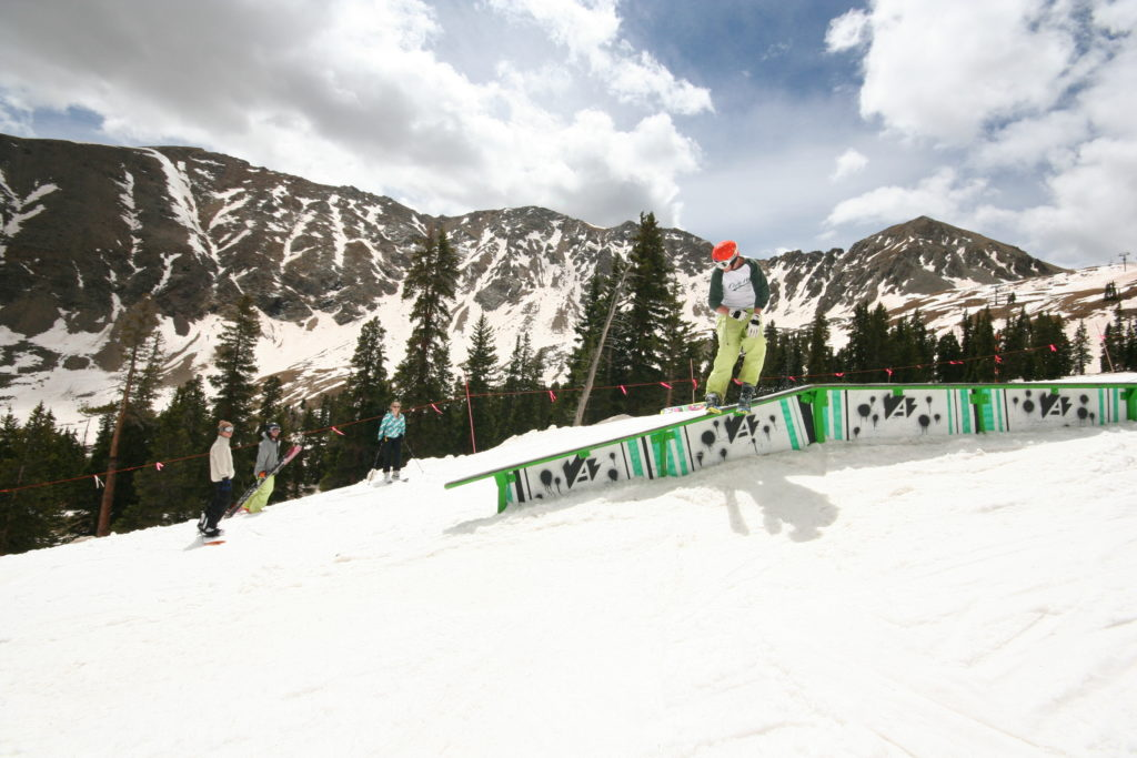 Spring Rail Jam at Arapahoe Basin
