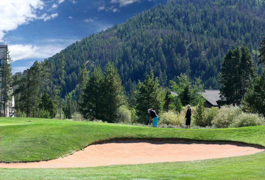 Two Golf Courses at Keystone CO