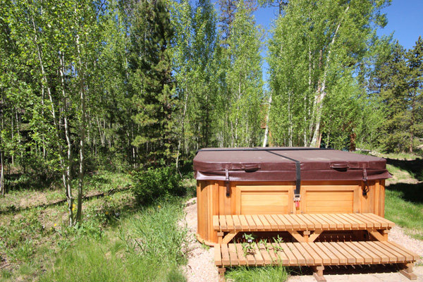 Hot Tub Service Plans with SummitCove Property Management at Keystone Resort Colorado