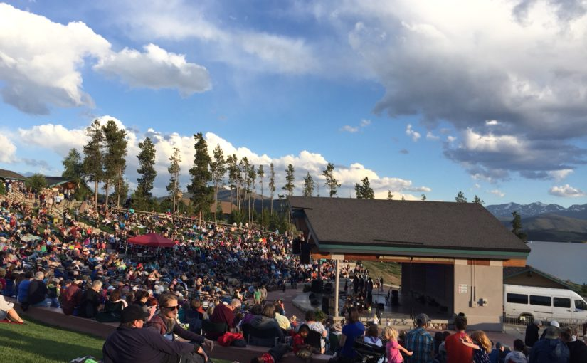 Free Summer 2018 Concerts at the Newly Renovated Dillon Amphitheater