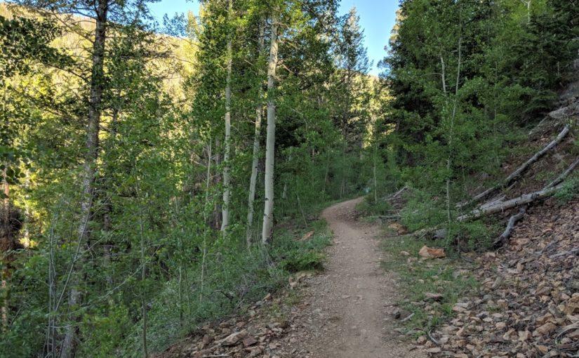 Biking or Hiking the Aqueduct Trail at Keystone Resort