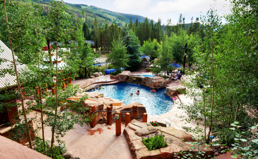 Springs Pool in Keystone Resort Colorado