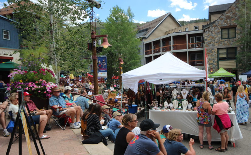 Wine and Jazz Festival at Keystone CO