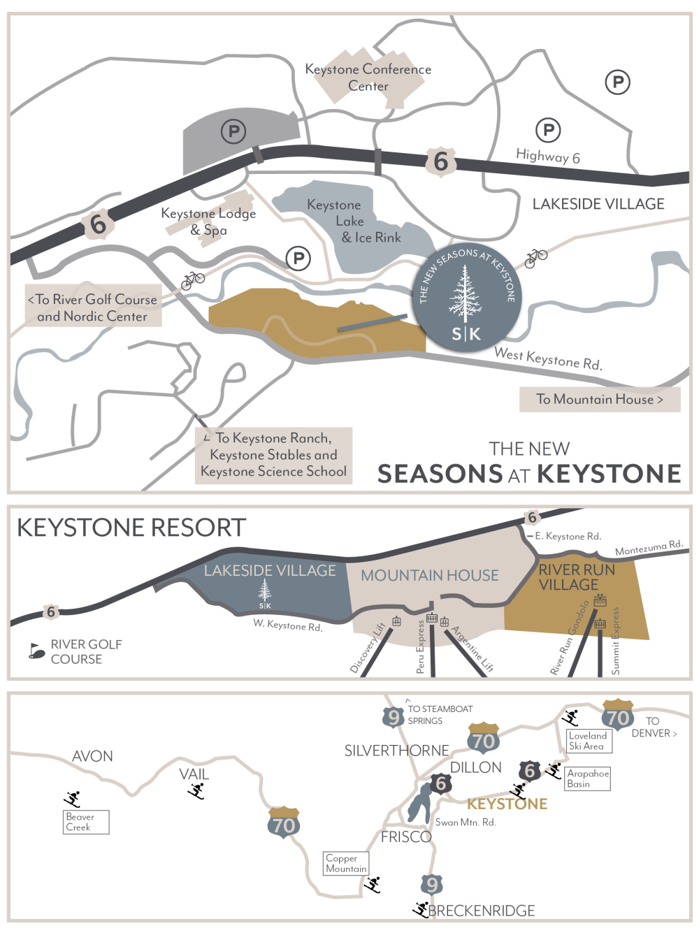 Keystone Resort's Newest Development, The New Seasons
