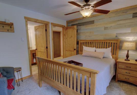 Inviting Master Bedroom in West Keystone Rental
