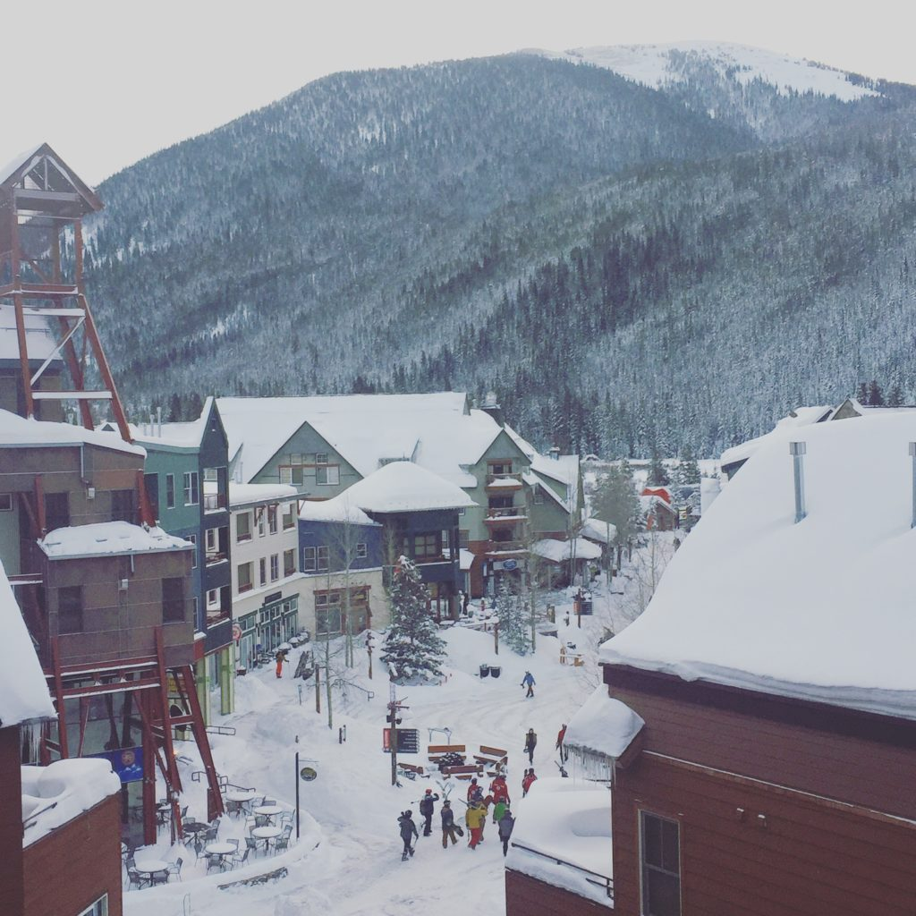 River Run Village at Keystone Resort in the Winter