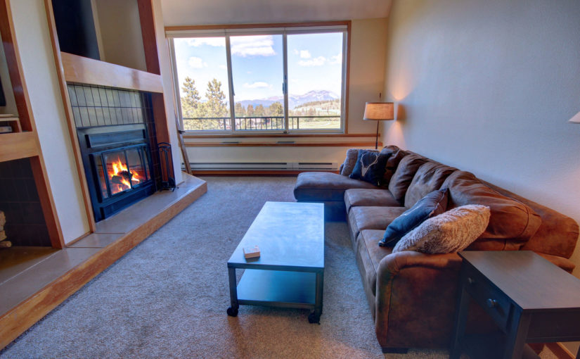 Lovely One Bedroom Plus Loft Keystone Rental Condo at the Pines