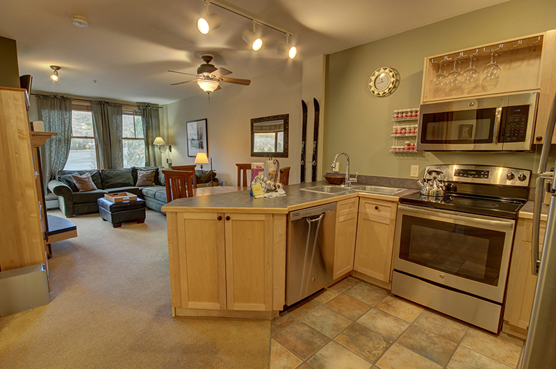 Great Kitchen with Stainless Appliances at Silver Mill Condo