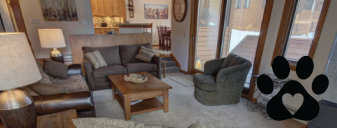 Dog friendly vacation rental in Keystone Colorado at SummitCove Lodging