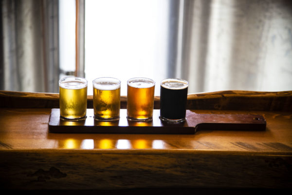 Craft Beer Flight from Pug Ryan's Brewery