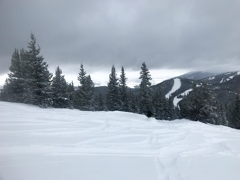 March snow at Keystone