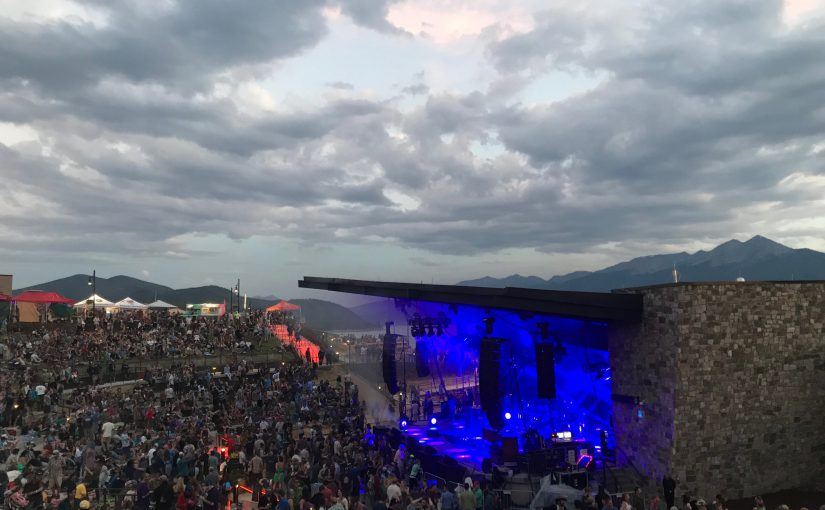 Live Music at the Dillon Amphitheater This Week