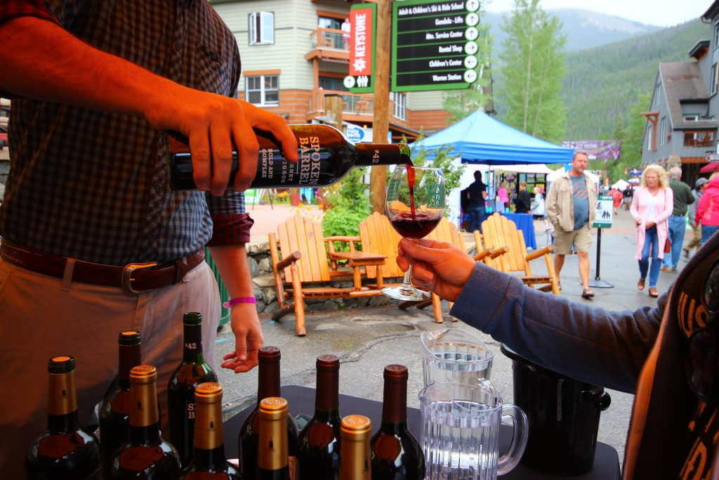 Wine and Jazz Festival Pour