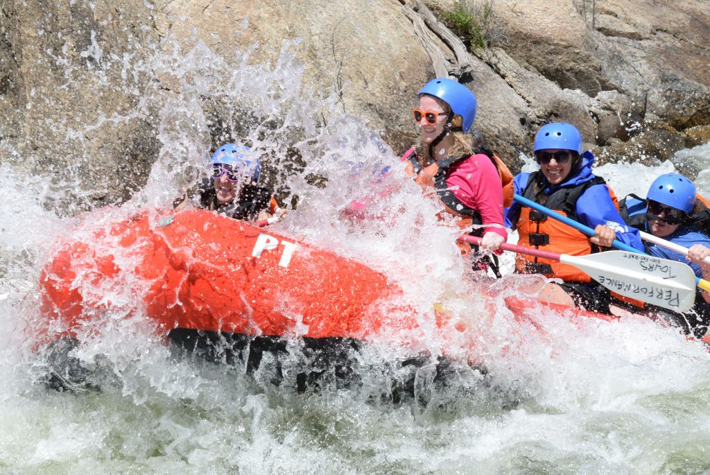 Whitewater Rafting with Performance Tours