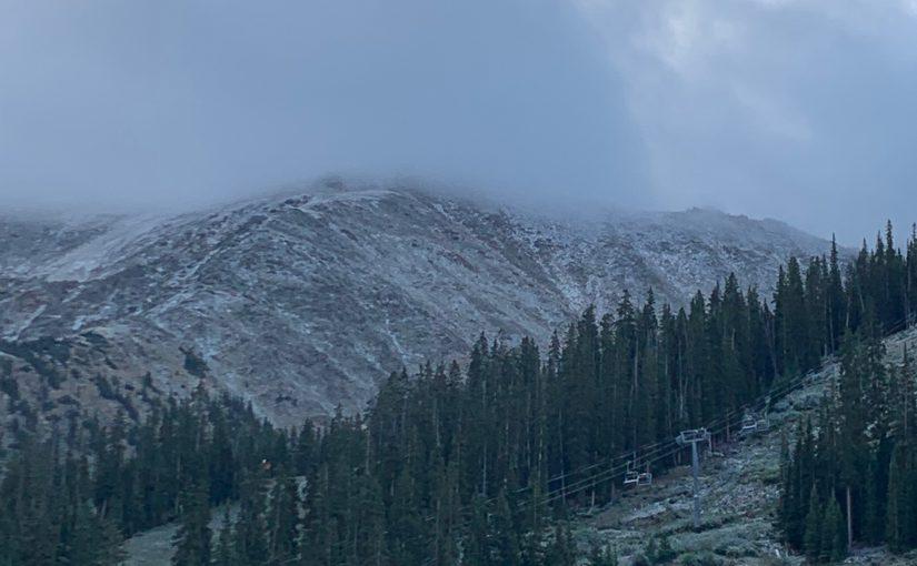 9/12/19- Snow on the Peaks!