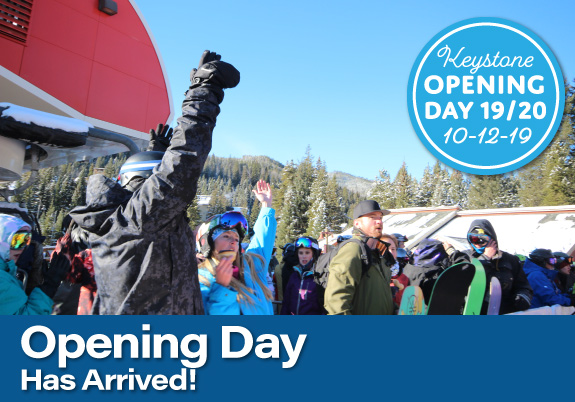 Keystone Resort is Opening Tomorrow, 10/12/19!