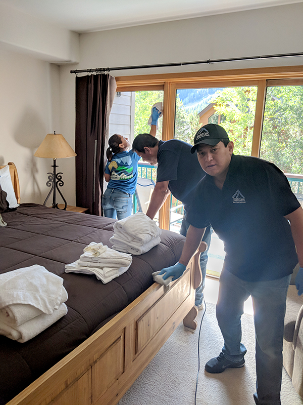 Spring Cleaning a Home a Keystone Resort