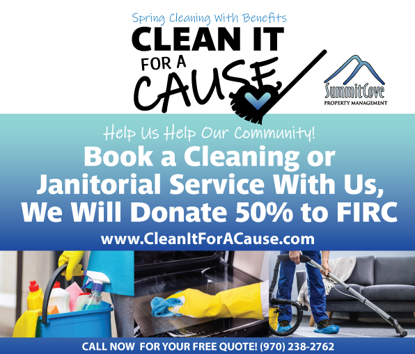 Cleaning Services FIRC Food Bank Cause Summit County CO