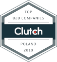 Clutch award top B2B companies Poland 2019