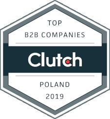 Clutch award top B2B companies Poland 2019