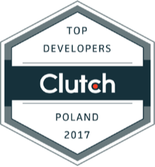 Clutch award top developers Poland 2017