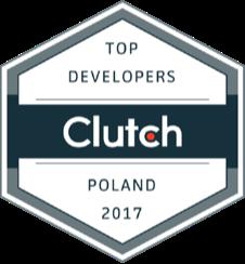 Clutch award top developers Poland 2017