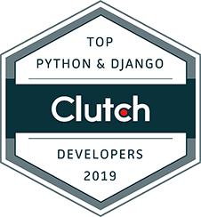 Clutch award top Python & Django Developers 2019