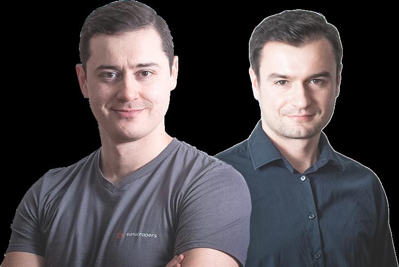 Lukasz Karwacki i Przemek Lewandowski
