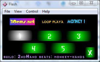 Monkey Hands Loop Player 3 Looper