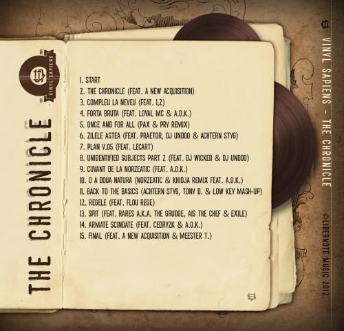 Vinyl Sapiens - The Chronicle