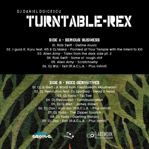 Dj Daniel Doicescu - Turntable REX - Mix
