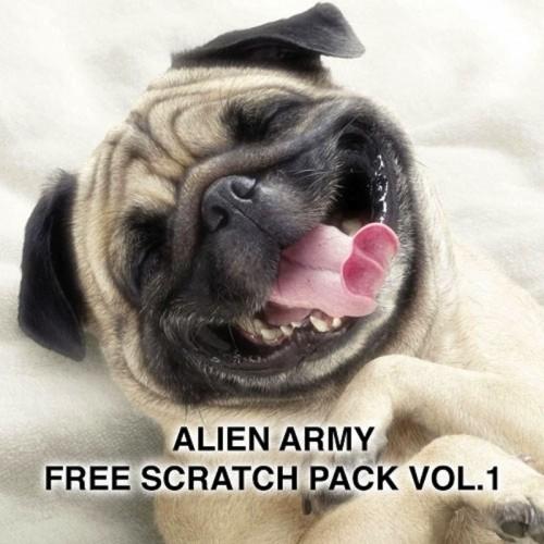 ALIEN ARMY FREE SCRATCH PACK vol.1