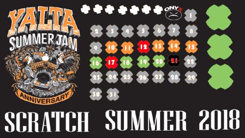 Scratch Summer 2018