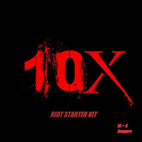 10xion Riot Starter Kit 2.0 (10 + 5 Loopers)