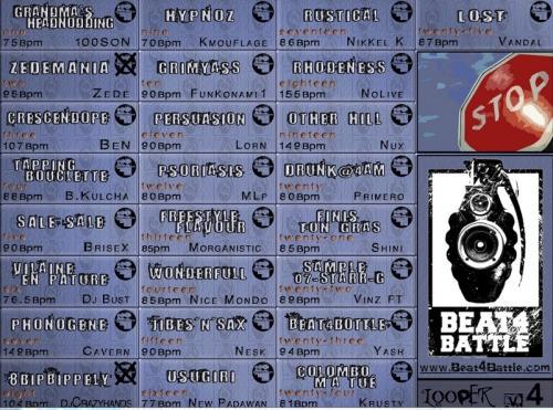 Beat 4 Battle Looper V4 - Looper