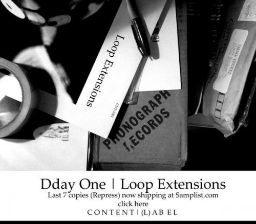 Dday One -Loop Extensions (repress) Last copies available, now...
