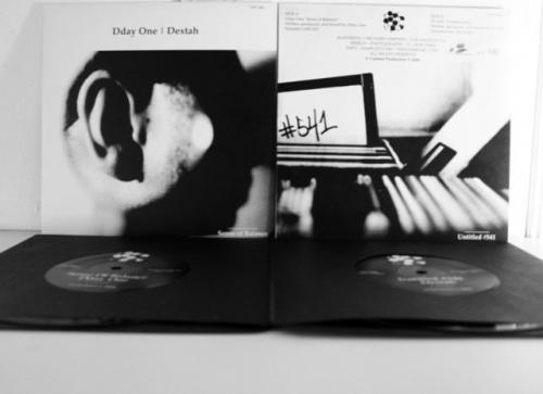 """Dday One / Dextah Sense of Balance 7"""" (SOLD OUT)"""