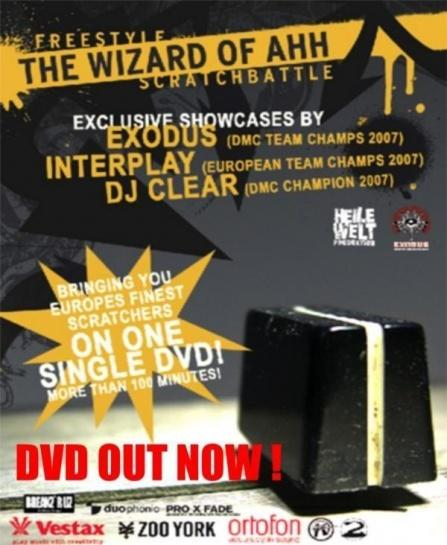 Wizard Of Ahh DVD - Out now