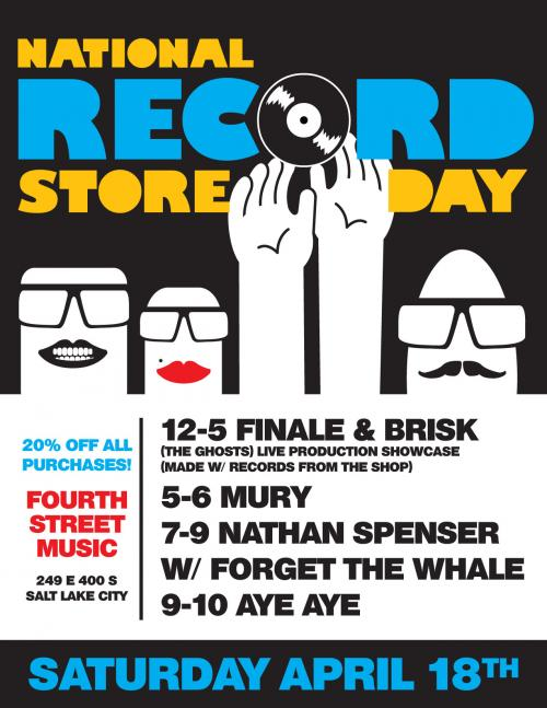 Record Store Day is Saturday, April 18th