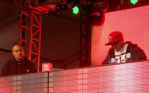 D-Styles & DJ Qbert Live at Voodoo Music Experience 2012