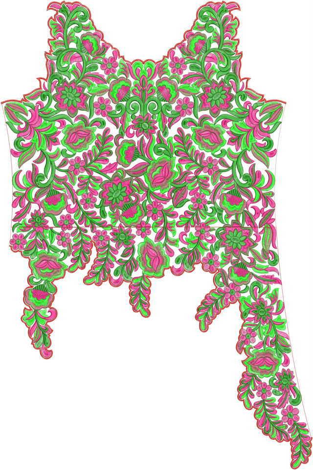 tedeex_design_chn_gown-chain-stitch