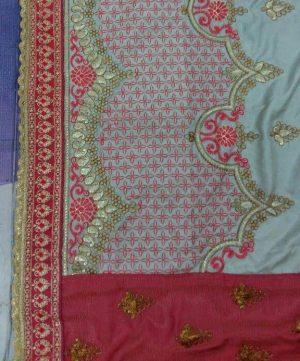 half half sarees