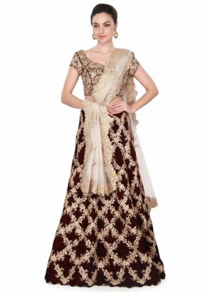 New Cording Lehenga Set
