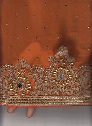 Cording Skirt Pallu Saree