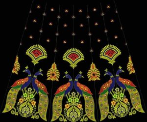 rajasthani lehengha design